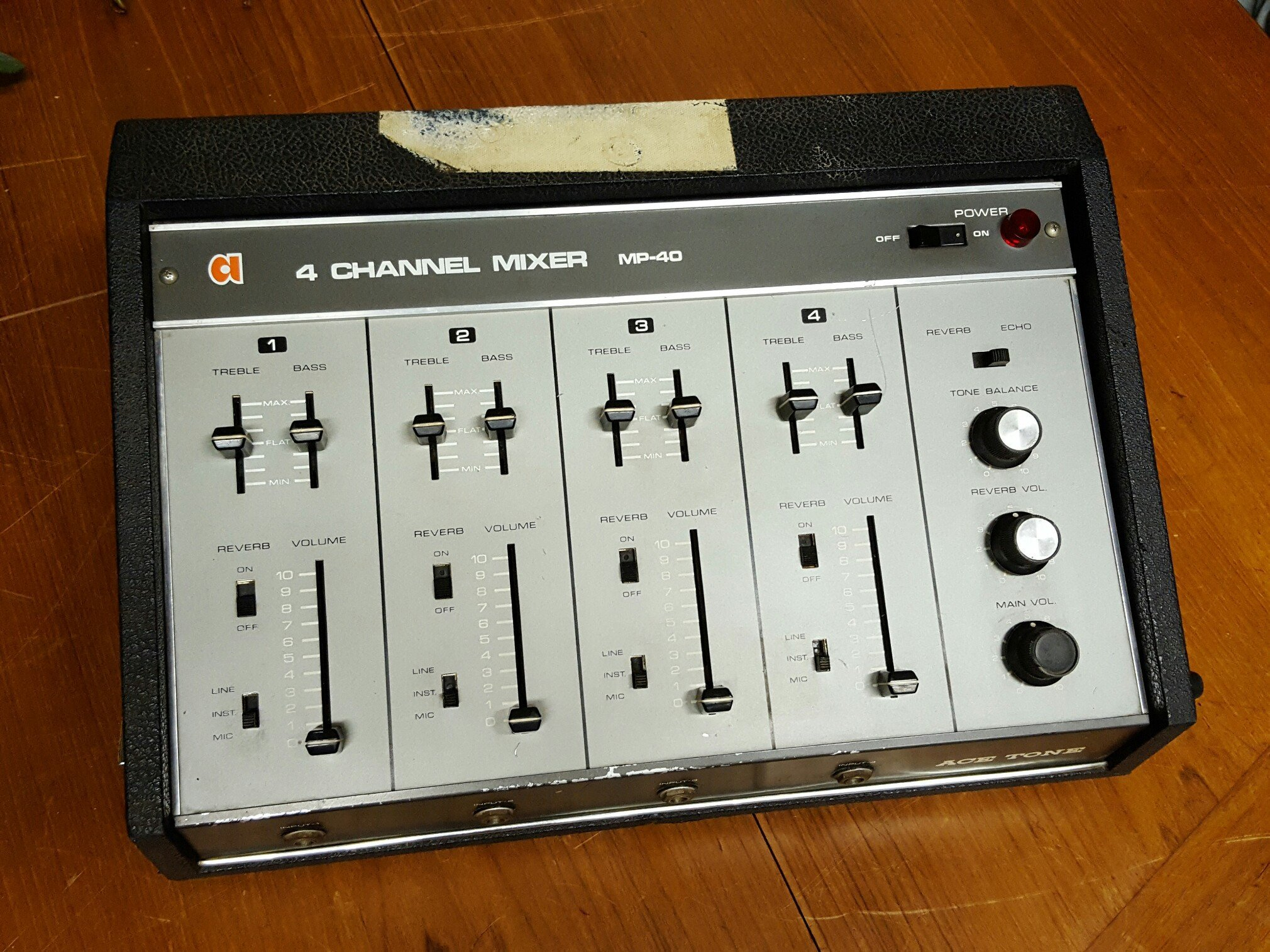 Ace Tone MP40 4 Channel Mixer
