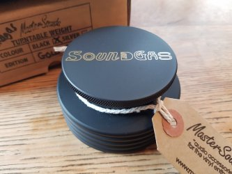Soundgas MasterSounds Turntable Weight