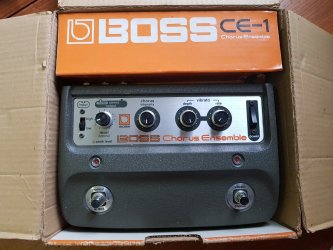 Boss CE-1 Chorus Ensemble *Mint* + Box