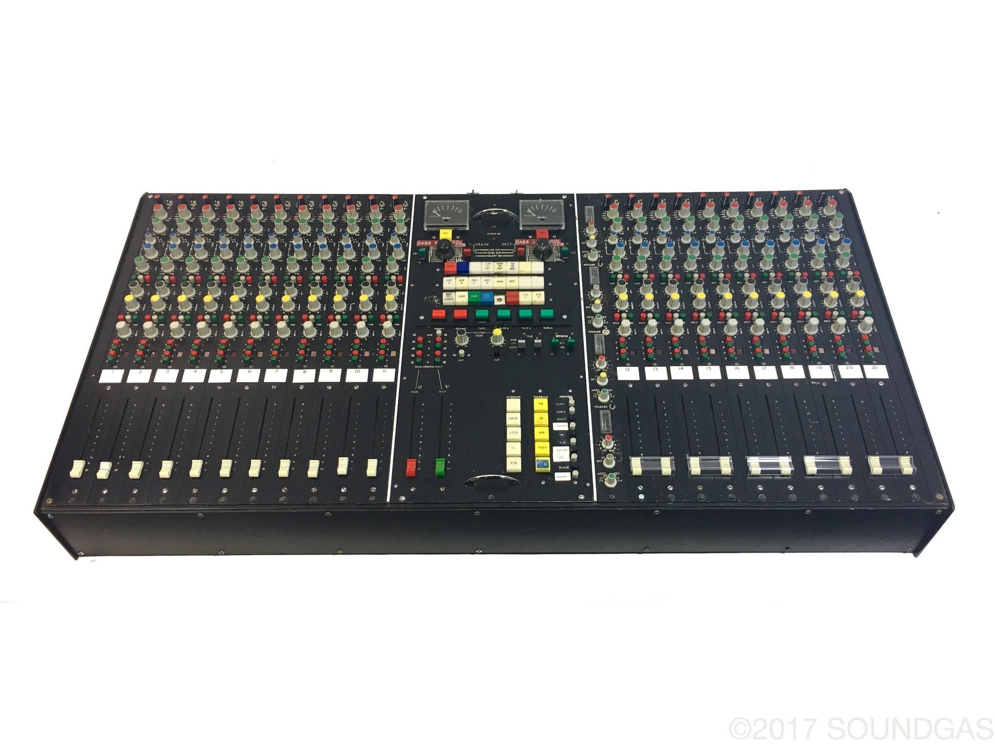Audio Developments 21 Channel Mixing Desk – ex-BBC