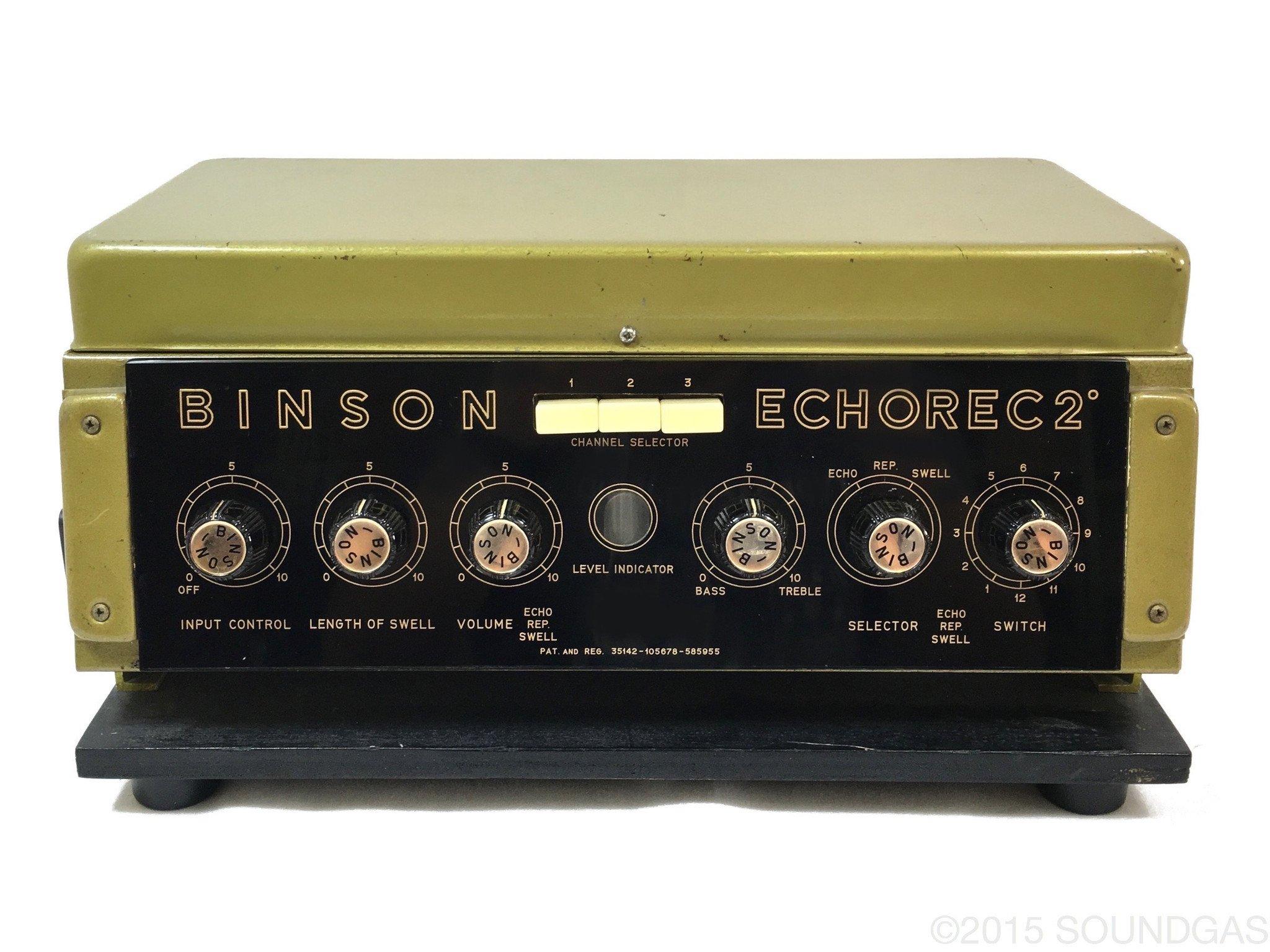 Binson Echorec 2 T7E disc echo