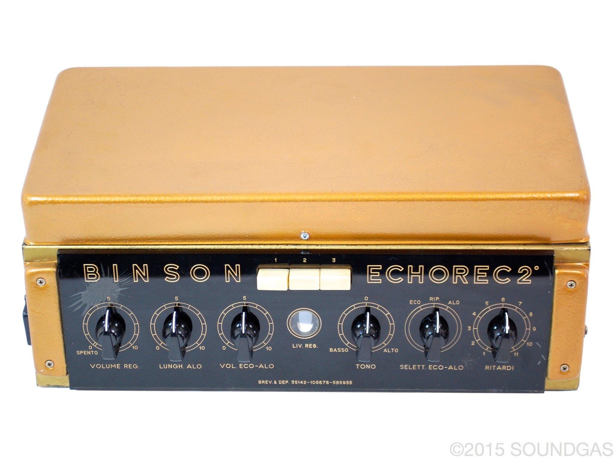 Binson Echorec 2 T7E (Cover)