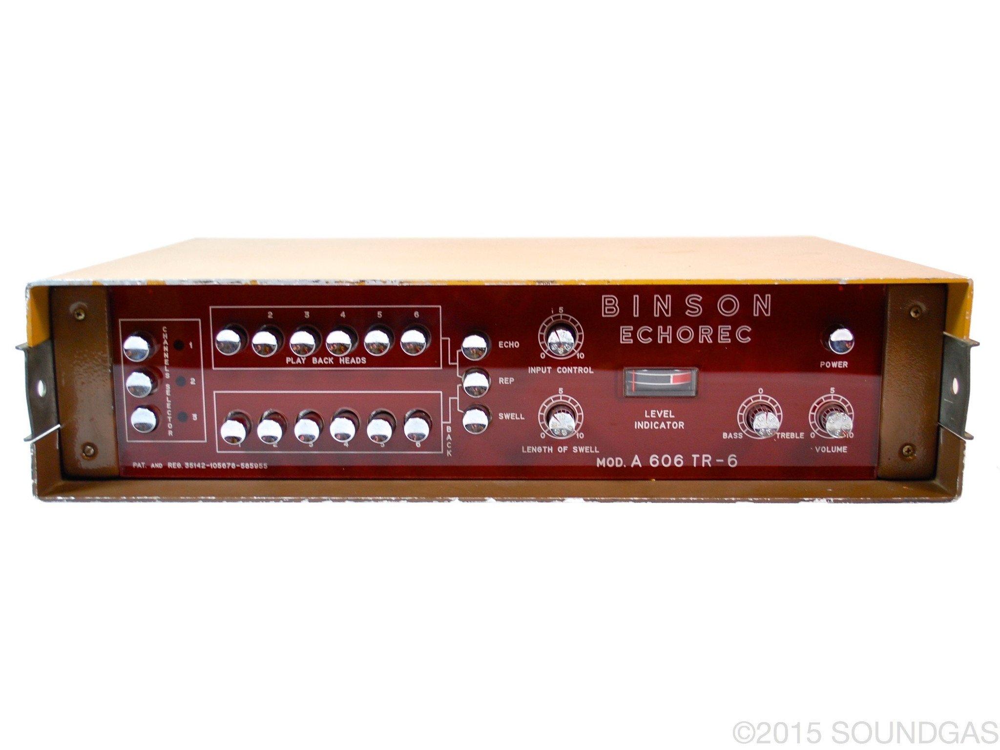 Binson Echorec 606 TR6 (Cover)