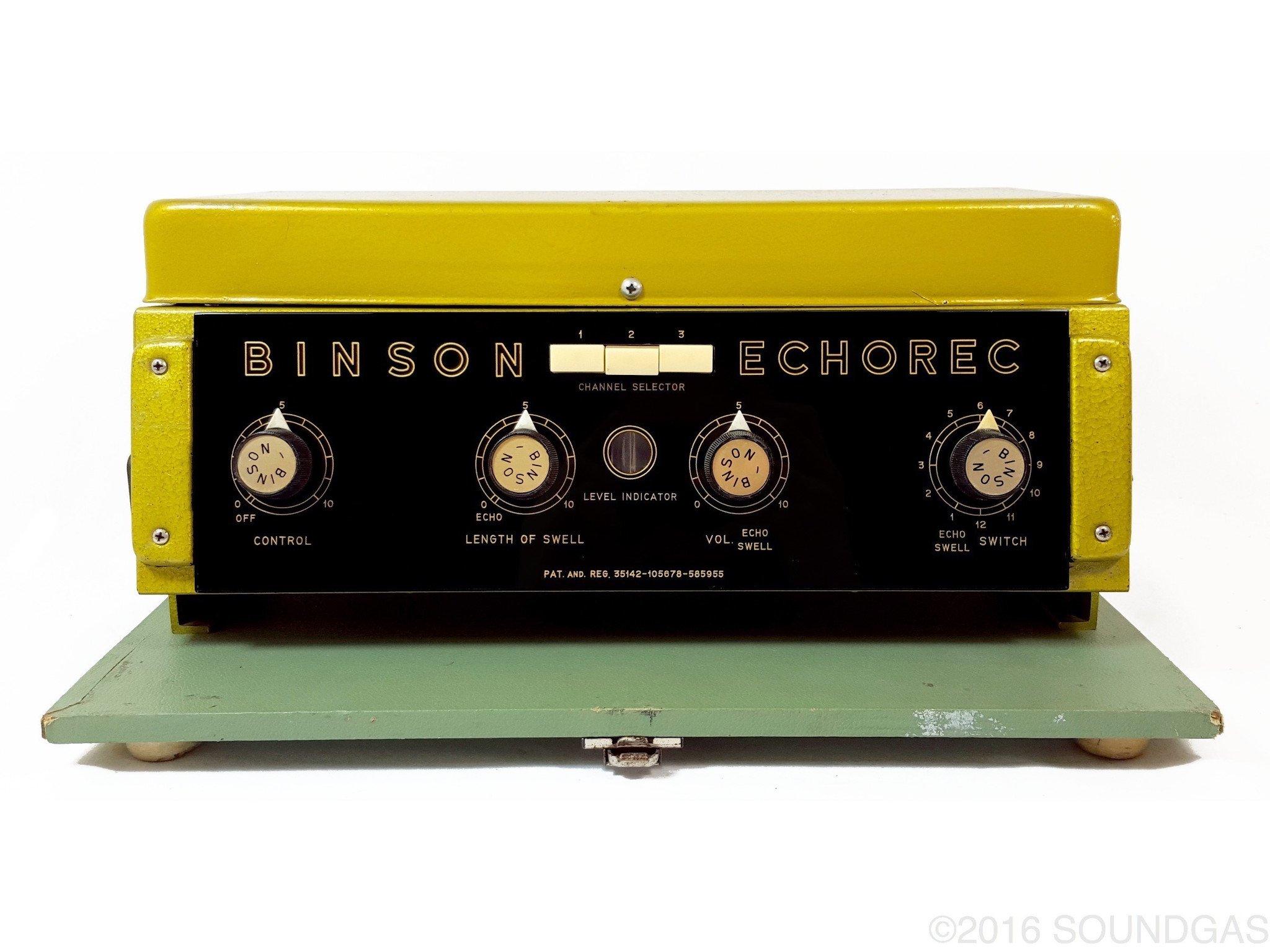 BINSON ECHOREC B2 (Baby 2) - Fully-Restored