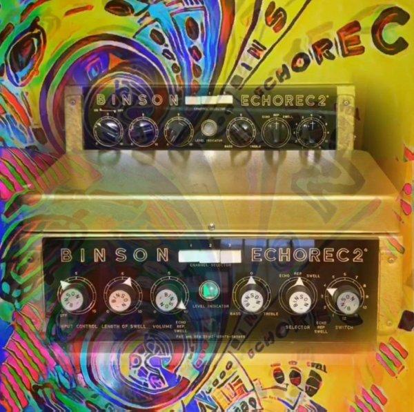 Binson Echorec Psychedelic