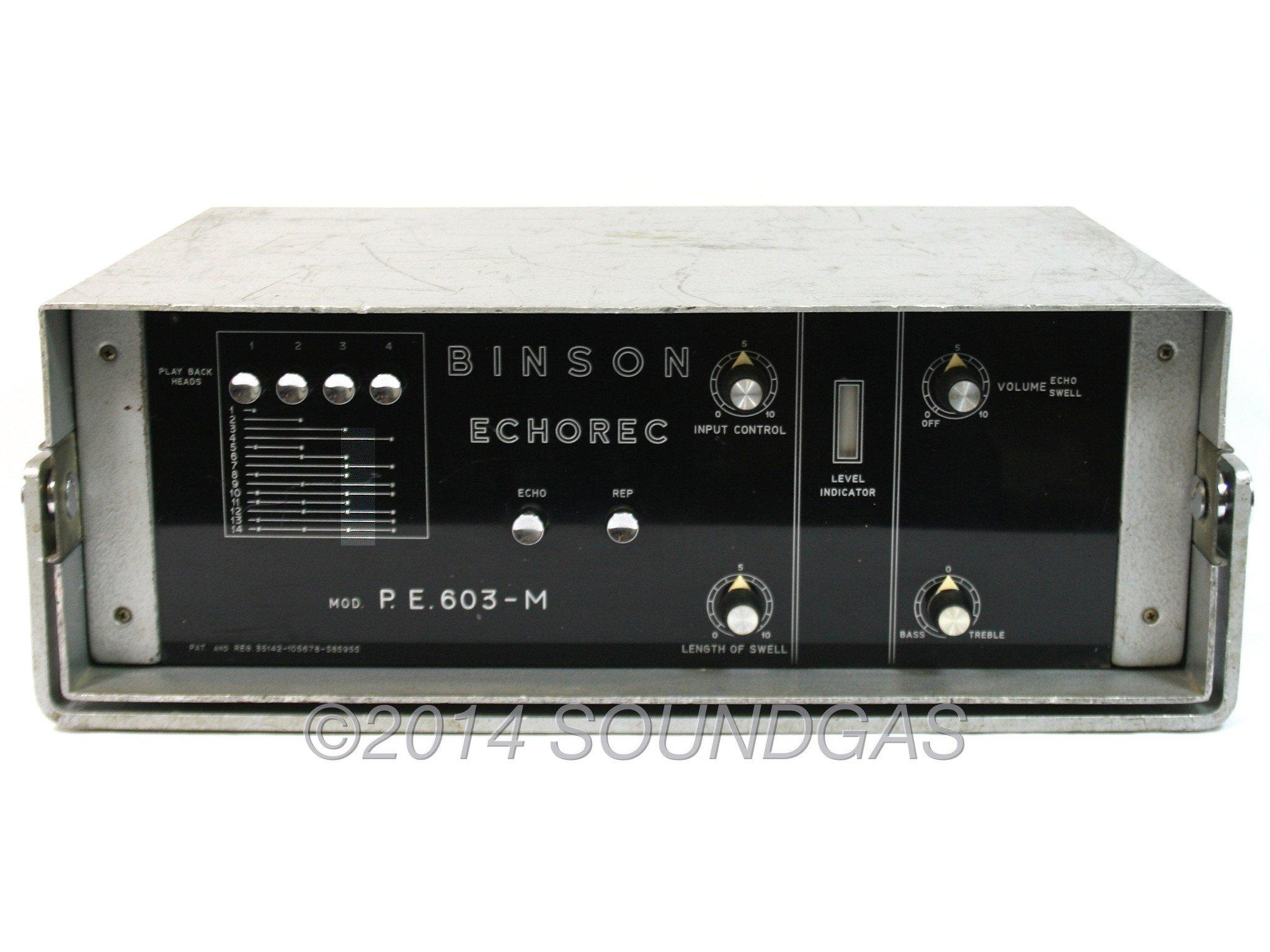 Binson Echorec 603-M disc echo