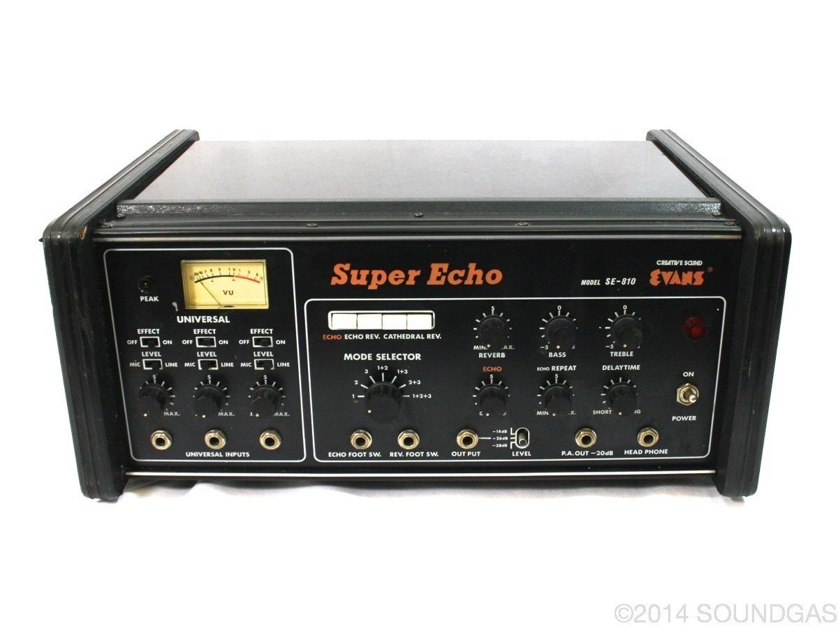 EVANS SE-810 SUPER ECHO (Cover)