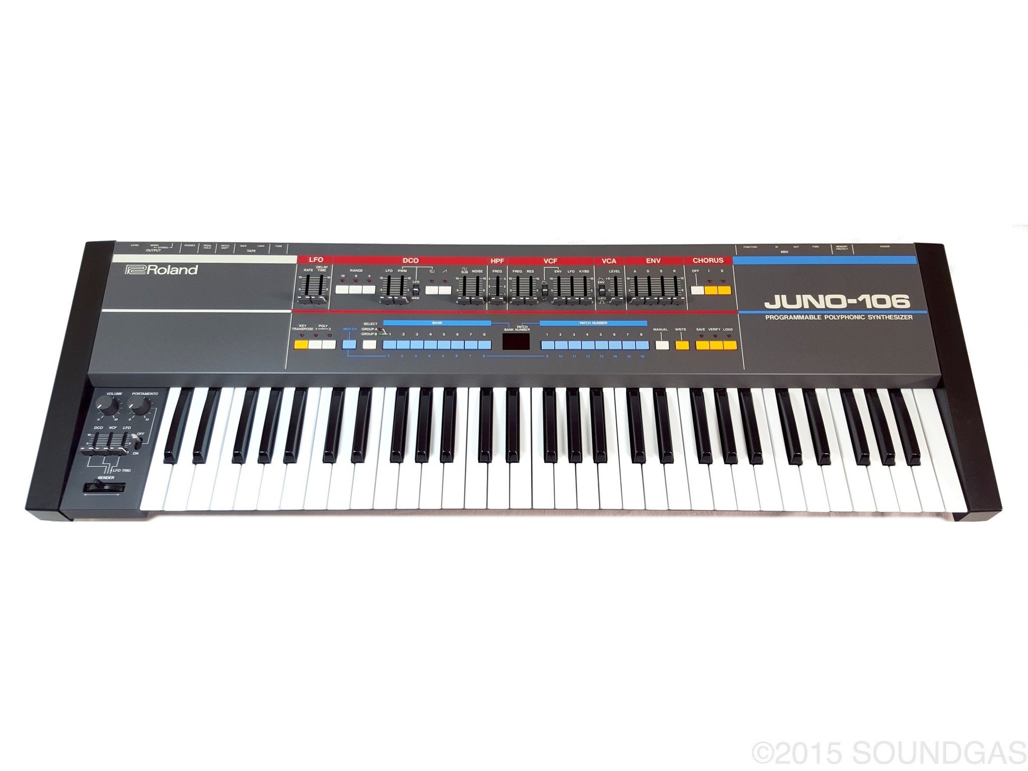 ROLAND JUNO 106 Synth *MINT CONDITION*