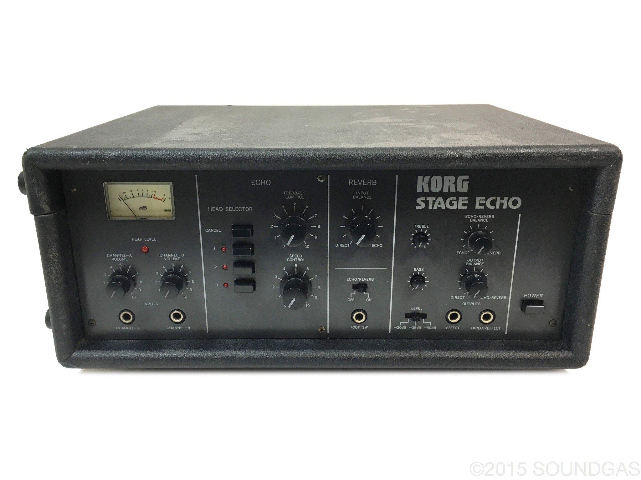 KORG S-300 STAGE ECHO