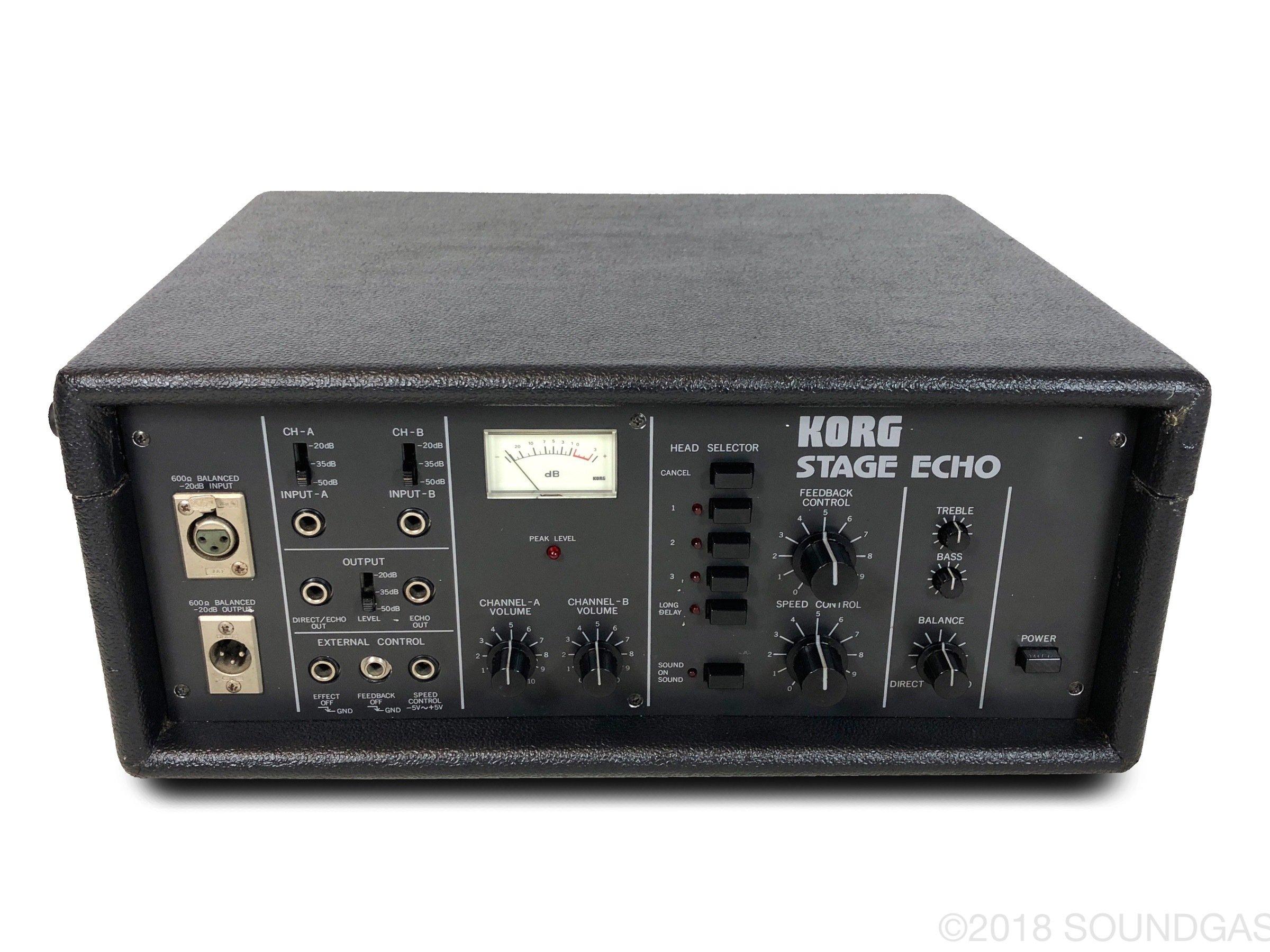 Korg SE-500 Stage Echo - 220v