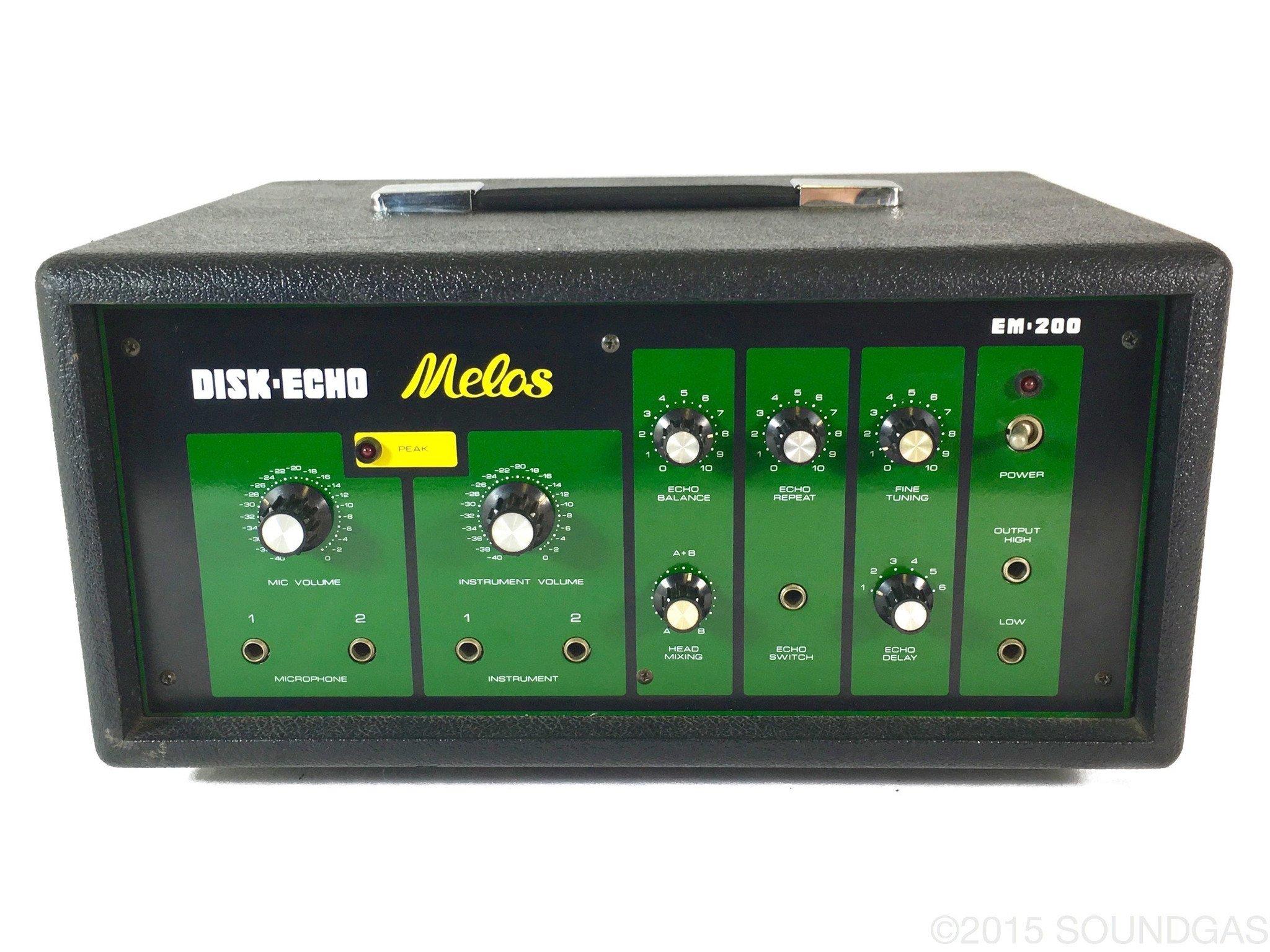MELOS DISK ECHO EM-200