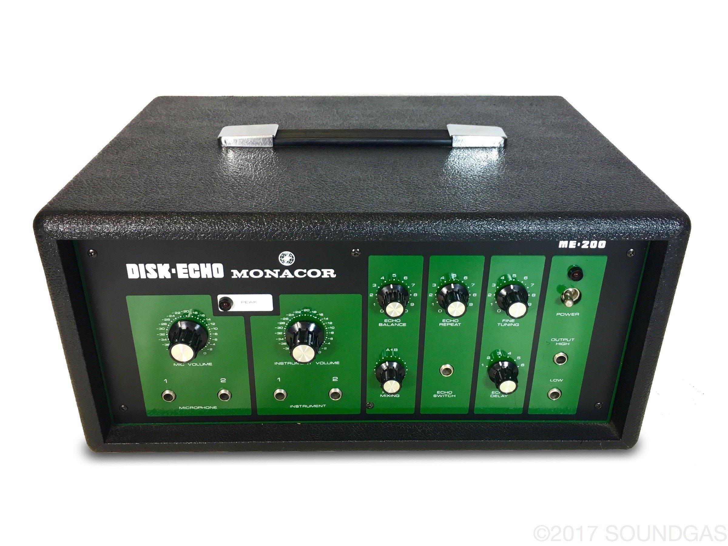 Monacor ME-200 Disk Echo