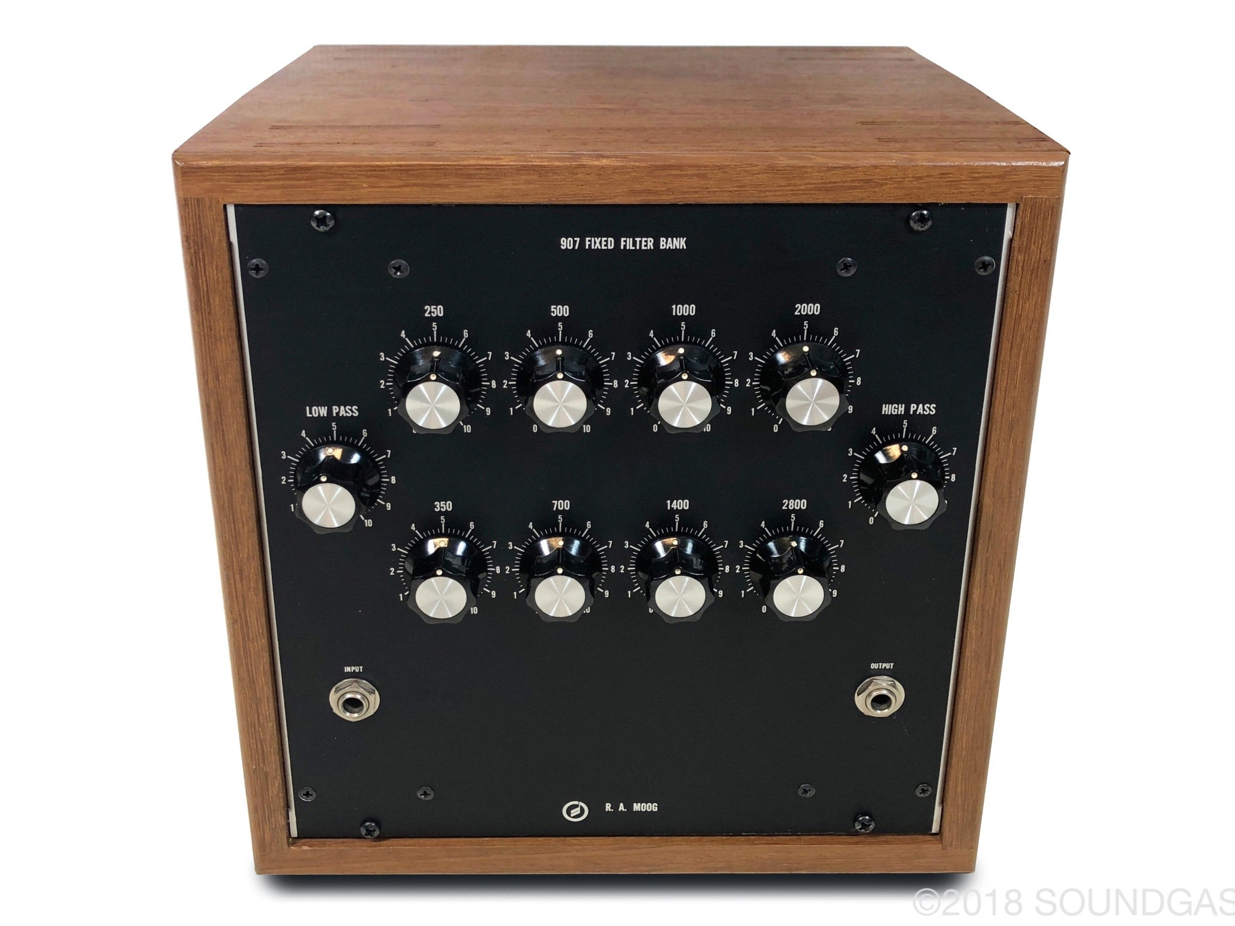 R.A. Moog 907 Fixed Filter Bank