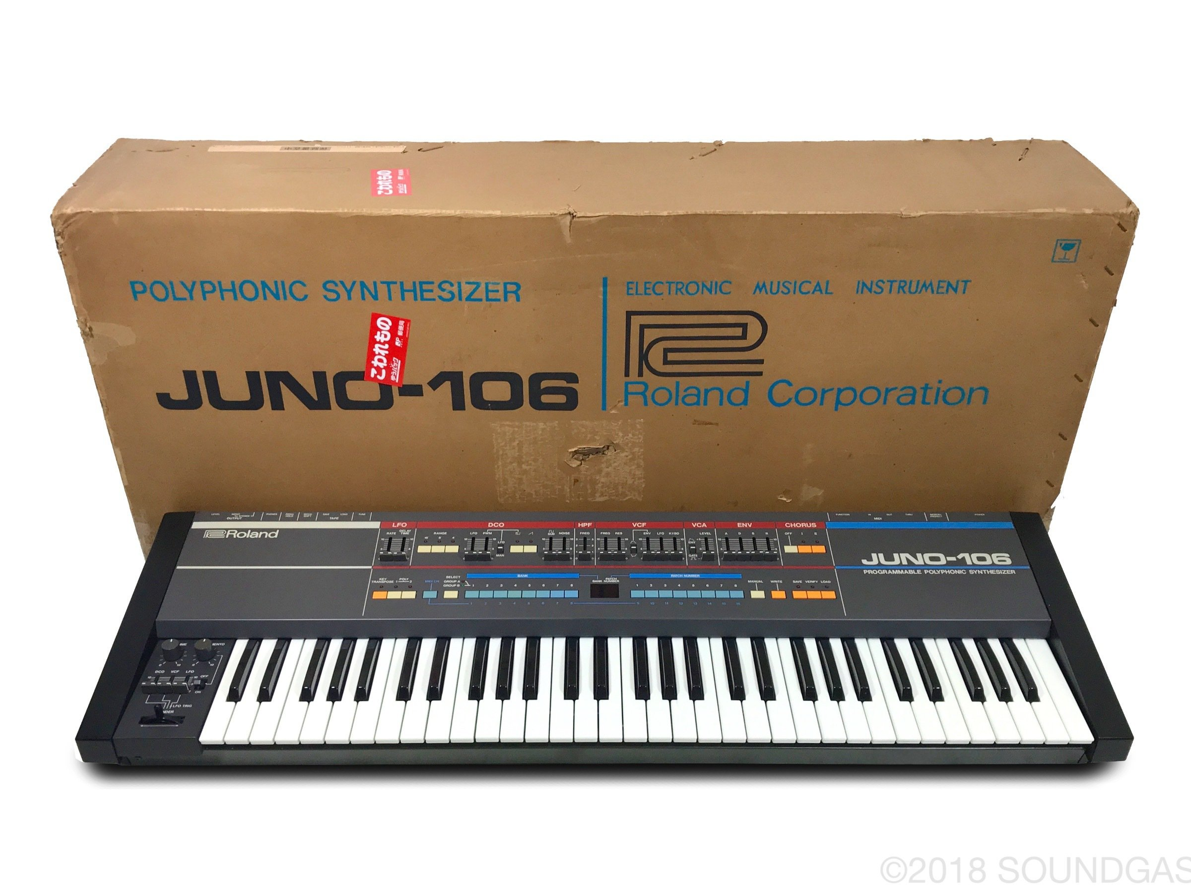 Roland Juno-106 (Boxed)