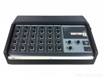 Roland PA.60 Spring Reverb Mixer + Wet-Only Mod