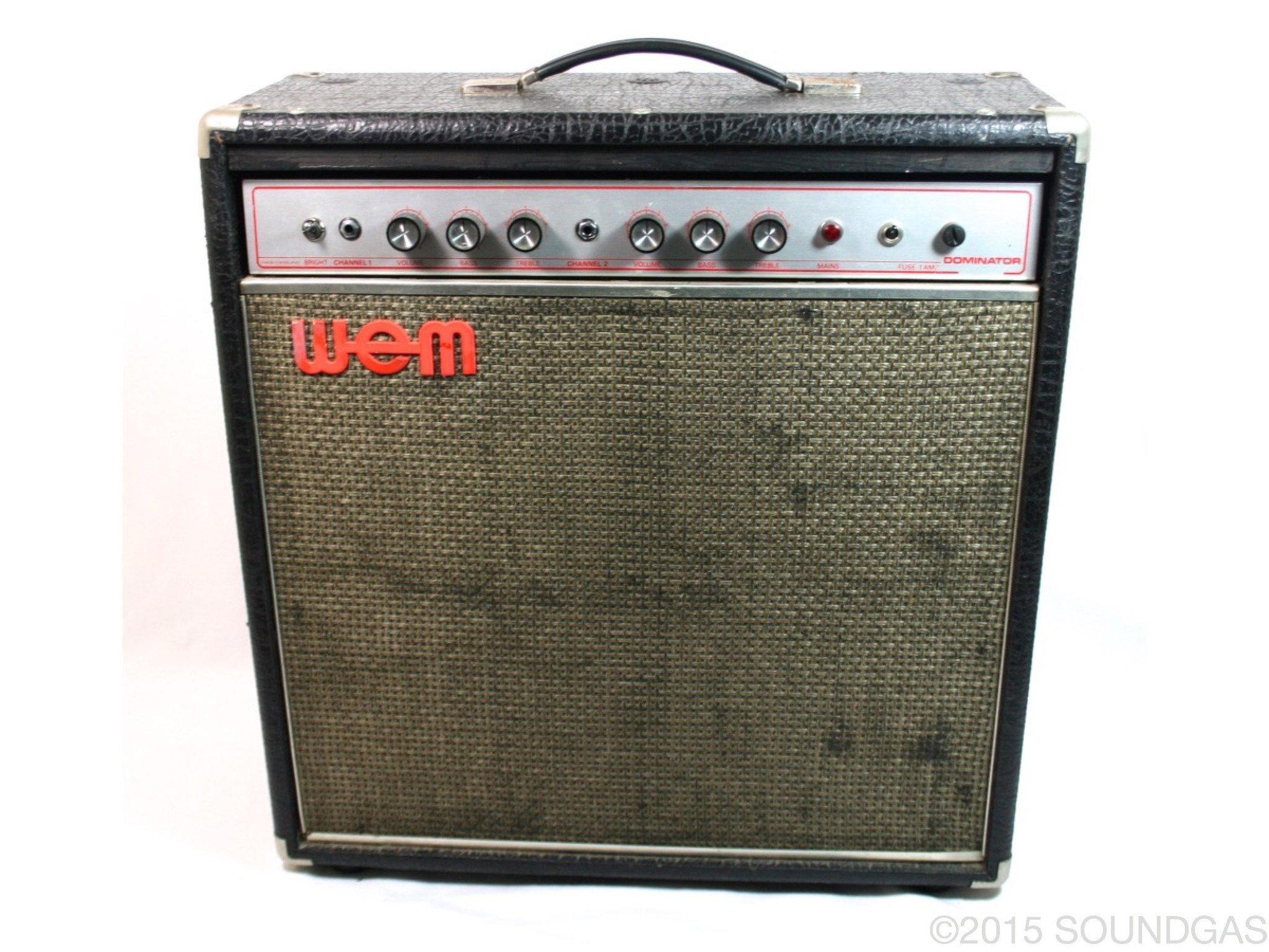 WEM-Dominator-Vintage-Valve-Tube-Amplifier-Amp-Cover-1