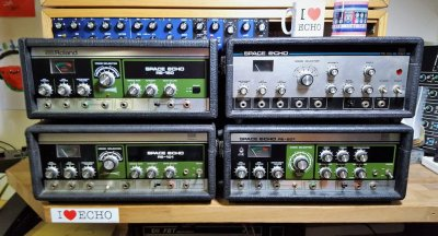 Roland RE-201 Space Echo – Early Preamps