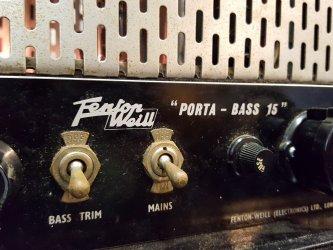 Fenton Weill Porta-Bass 15