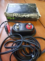 Roland FS-2 Double Footswitch