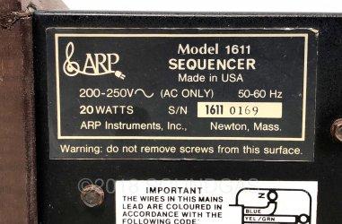 ARP Sequencer Model 1611