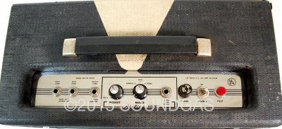 Airline Spring Tube Reverb (Top)