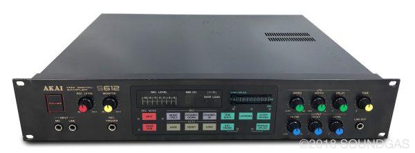 Akai-S612 + MIDI Front Panel Animator (FPA)