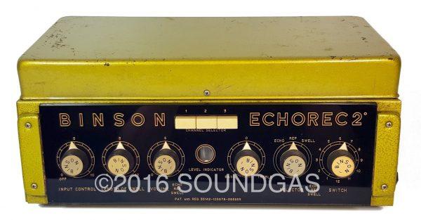 BINSON ECHOREC 2 T7E - Serviced & ready now
