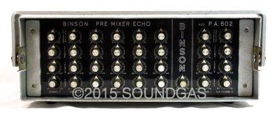 Binson PA 602 Premixer Echo (Front)