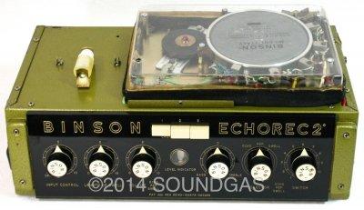 Binson Echorec T7E (Front Top Open 2)