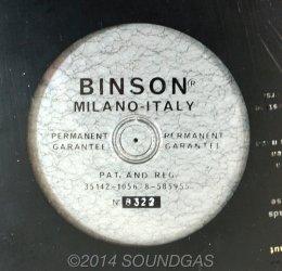 Binson Echorec 4ET disc echo -disc