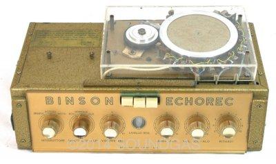 Binson Echorec T5E (Front Top Case)