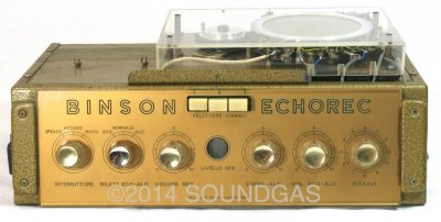 Binson Echorec T5E (Front Case)