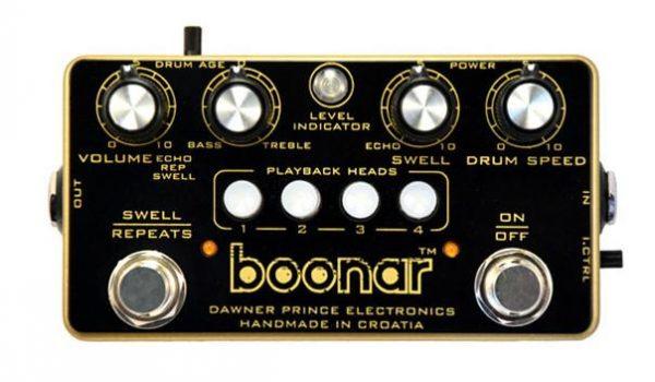 Dawner Prince Boonar Multi Head Drum Echorec Echo Pedal