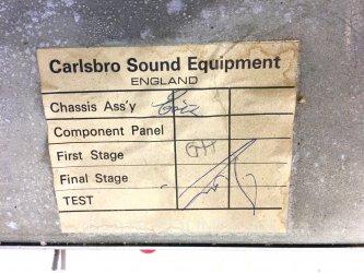 Carlsbro Model 60 PA