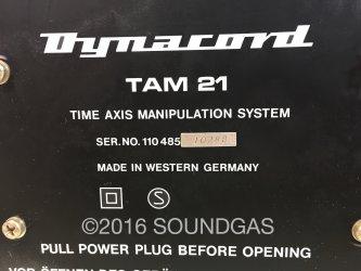 Dynacord TAM 21 Flanger / Doubler