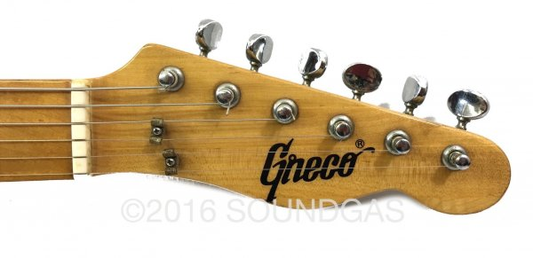 Greco Thinline Spacey Sounds TE-500