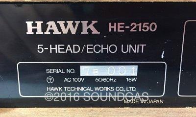 Hawk HE-2150 5-Head Echo Unit