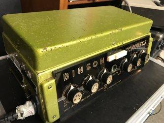 Binson Echorec 2º T7E Super-Slow Varispeed