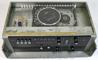 Binson Echorec 603-M disc echo top