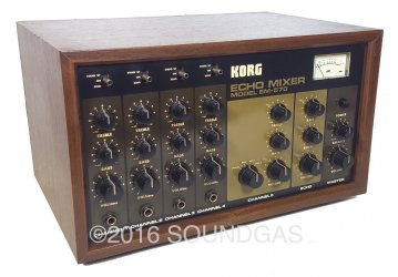Korg EM-570 Echo Mixer (MN3005 Delay)