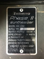 Ludwig Phase II Synthesizer