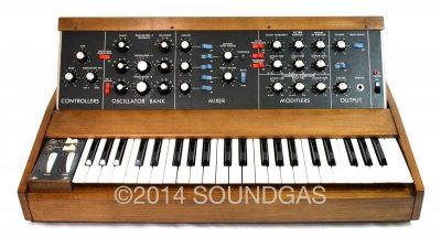 Moog Minimoog Model D Synthesiser (Front Top)