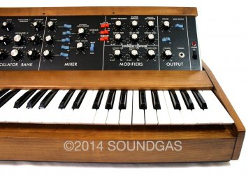 Moog Minimoog Model D Synthesiser (Front Right)