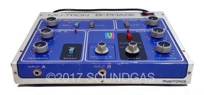 Musitronics Mu-Tron Bi-Phase with C-100 Opti-Pot Pedal