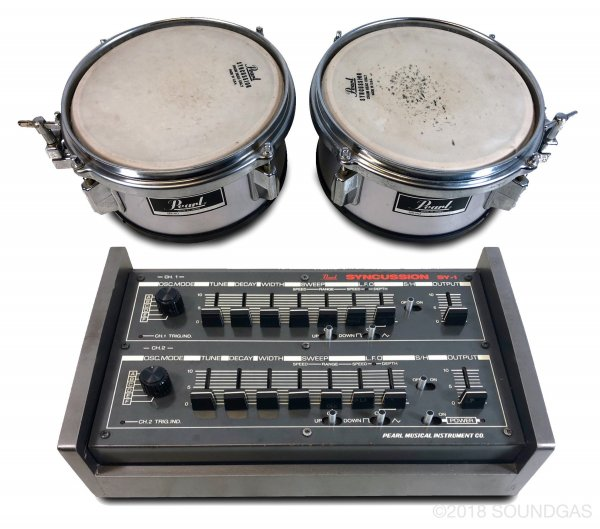 Pearl Syncussion SY-1 & Trigger Drums