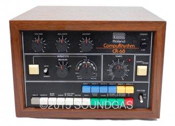 Roland CR-68 CompuRhythm (Front Top)