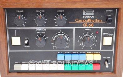 Roland CR-68 CompuRhythm (Front)