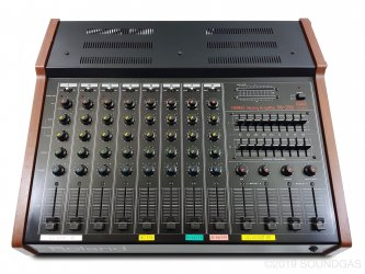 Roland PA-250 Stereo Mixer with Spring Reverb