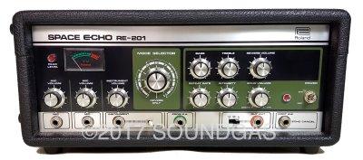 Roland RE-201 Space Echo *Near Mint* w/ Original Cover