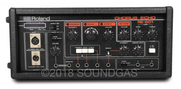 Roland RE-501 Chorus Echo - Prototype